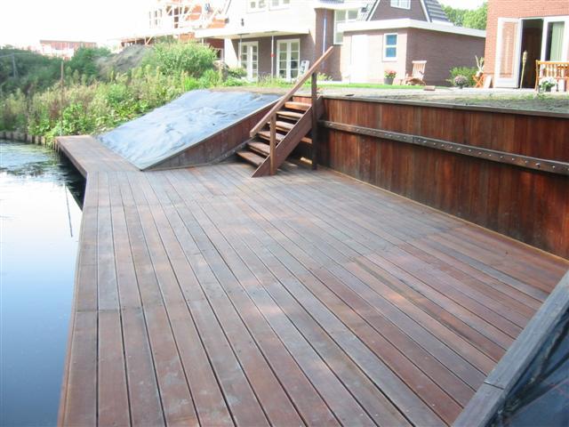 08 10 2006 het terras aan de achterkant images frompo - Terras hout picture ...